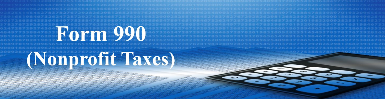 Form 990 Nonprofit Taxes